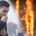 Comienza temporada de incendios forestales; le decimos qué hacer cuando hay mucho humo
