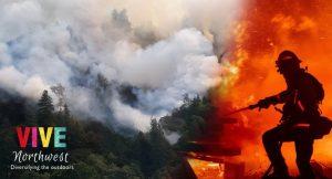 Fuertes vientos e incendios azotan la zona oeste de Oregon