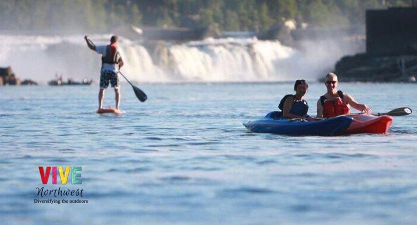Descubre la imponente majestuosidad de las cataratas Willamette, en Oregon City