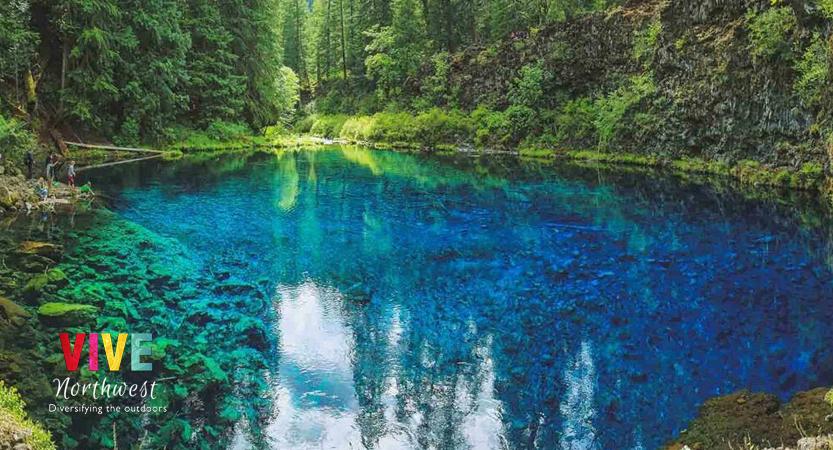 En este momento estás viendo Visita la Blue Pool, un lugar donde la cristalina agua color azul turquesa te dejará hipnotizado