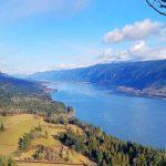 Cape Horn Trail, un popular sendero en la garganta del Río Columbia, cerca de Vancouver